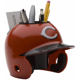 Cincinnati Reds MLB Schutt Mini Baseball Desk Caddy