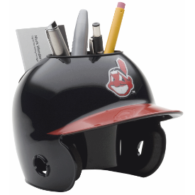 Cleveland Indians MLB Schutt Mini Baseball Desk Caddy