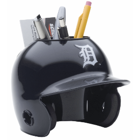 Detroit Tigers MLB Schutt Mini Baseball Desk Caddy