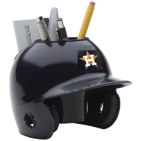 Houston Astros MLB Schutt Mini Baseball Desk Caddy