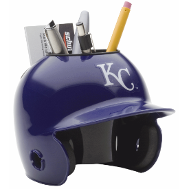 Kansas City Royals MLB Schutt Mini Baseball Desk Caddy