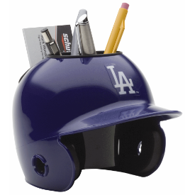 Los Angeles Dodgers MLB Schutt Mini Baseball Desk Caddy