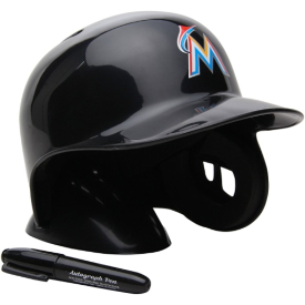 Miami Marlins Rawlings MLB Mini Batters Helmet