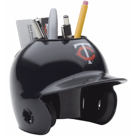 Minnesota Twins MLB Schutt Mini Baseball Desk Caddy