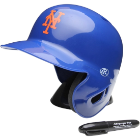 New York Mets Rawlings MLB Mini Batters Helmet