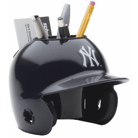New York Yankees MLB Schutt Mini Baseball Desk Caddy
