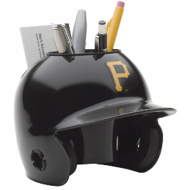 Pittsburgh Pirates MLB Schutt Mini Baseball Desk Caddy