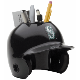 Seattle Mariners MLB Schutt Mini Baseball Desk Caddy