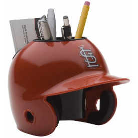 St Louis Cardinals MLB Schutt Mini Baseball Desk Caddy