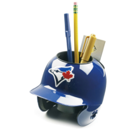 Toronto Blue Jays MLB Schutt Mini Baseball Desk Caddy
