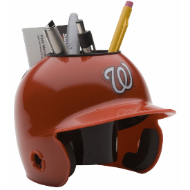 Washington Nationals MLB Schutt Mini Baseball Desk Caddy
