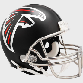 Atlanta Falcons Riddell VSR-4 Authentic Full Size Football Helmet ***New for 2020***