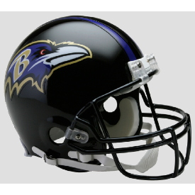 Baltimore Ravens Riddell VSR-4 Authentic Full Size Football Helmet