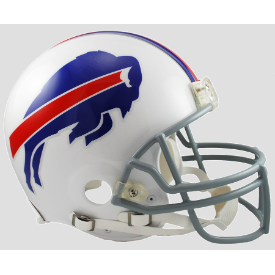 Buffalo Bills Riddell VSR-4 Authentic Full Size Football Helmet