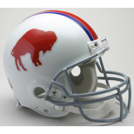 Buffalo Bills Riddell VSR-4 Throwback 65-73 Authentic Full Size Football Helmet