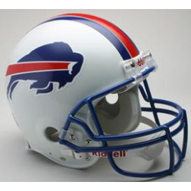 Buffalo Bills Riddell VSR-4 Throwback 76-83 Authentic Full Size Football Helmet