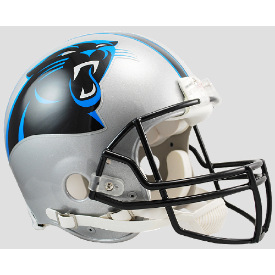 Carolina Panthers Riddell VSR-4 Authentic Full Size Football Helmet