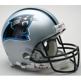 Carolina Panthers Riddell VSR-4 Throwback 95-11 Authentic Full Size Football Helmet