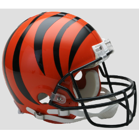 Cincinnati Bengals Riddell VSR-4 Authentic Full Size Football Helmet
