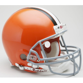 Cleveland Browns Riddell VSR-4 Throwback 06-14 Authentic Full Size Football Helmet