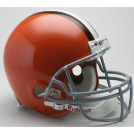 Cleveland Browns Riddell VSR-4 Throwback 62-74 Authentic Full Size Football Helmet