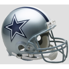 Dallas Cowboys Riddell VSR-4 Authentic Full Size Football Helmet