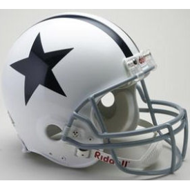 Dallas Cowboys Riddell VSR-4 Throwback 60-63 Authentic Full Size Football Helmet