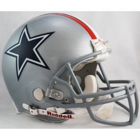 Dallas Cowboys Riddell VSR-4 Throwback 1976 Authentic Full Size Football Helmet