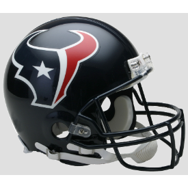 Houston Texans Riddell VSR-4 Authentic Full Size Football Helmet