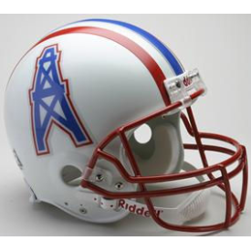 Houston Oilers Riddell VSR-4 Throwback 81-96 Authentic Full Size Football Helmet