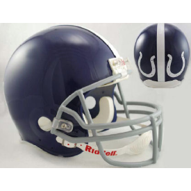 Indianapolis Colts Riddell VSR-4 Throwback 1955 Authentic Full Size Football Helmet