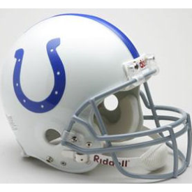 Indianapolis Colts Riddell VSR-4 Throwback 58-77 Authentic Full Size Football Helmet