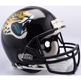 Jacksonville Jaguars Riddell VSR-4 Authentic Full Size Football Helmet