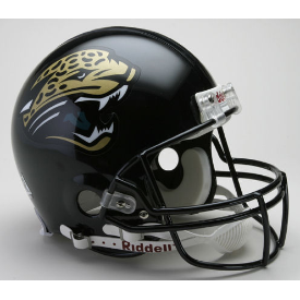 Jacksonville Jaguars Riddell VSR-4 Throwback 95-12 Authentic Full Size Football Helmet