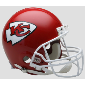Kansas City Chiefs Riddell VSR-4 Authentic Full Size Football Helmet