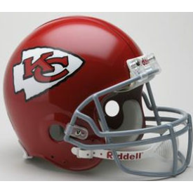Kansas City Chiefs Riddell VSR-4 Throwback 63-73 Authentic Full Size Football Helmet