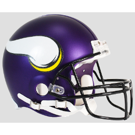 Minnesota Vikings Riddell VSR-4 Authentic Full Size Football Helmet