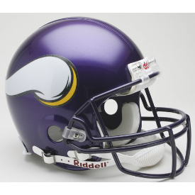 Minnesota Vikings Riddell VSR-4 Throwback 06-12 Authentic Full Size Football Helmet