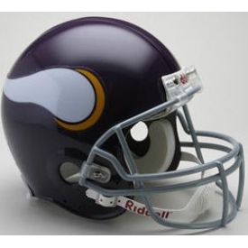 Minnesota Vikings Riddell VSR-4 Throwback 61-79 Authentic Full Size Football Helmet