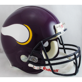 Minnesota Vikings Riddell VSR-4 Throwback 83-01 Authentic Full Size Football Helmet