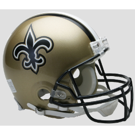 New Orleans Saints Riddell VSR-4 Authentic Full Size Football Helmet