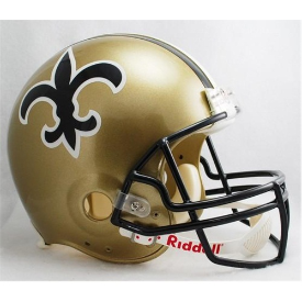 New Orleans Saints Riddell VSR-4 Throwback 76-99 Authentic Full Size Football Helmet