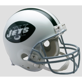 New York Jets Riddell VSR-4 Throwback 65-77 Authentic Full Size Football Helmet