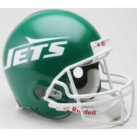 New York Jets Riddell VSR-4 Throwback 78-89 Authentic Full Size Football Helmet