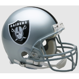 Las Vegas Raiders Riddell VSR-4 Authentic Full Size Football Helmet