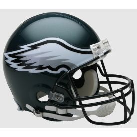 Philadelphia Eagles Riddell VSR-4 Authentic Full Size Football Helmet