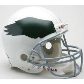 Philadelphia Eagles Riddell VSR-4 Throwback 69-73 Authentic Full Size Football Helmet