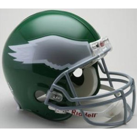 Philadelphia Eagles Riddell VSR-4 Throwback 74-95 Authentic Full Size Football Helmet