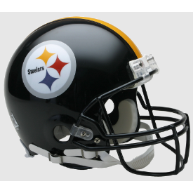 Pittsburgh Steelers Riddell VSR-4 Authentic Full Size Football Helmet