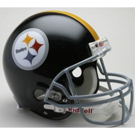Pittsburgh Steelers Riddell VSR-4 Throwback 63-76 Authentic Full Size Football Helmet